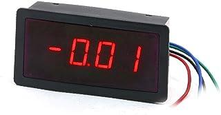 X-DREE Panel Mount DC Power 4 Digit LED Display Digital Ammeter 3A (6667d5aa-a222-11e9-8d7c-4cedfbbbda4e)