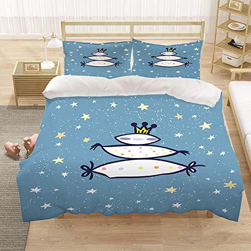 Bedclothes-Blanket Conjunto de Ropa de Cama Impreso Cubierta de edredón Piezas 3D de colchas Decorativas para niños Niños niños Adolescentes Impreso Edredón Cubierta-1_220 * 240 cm
