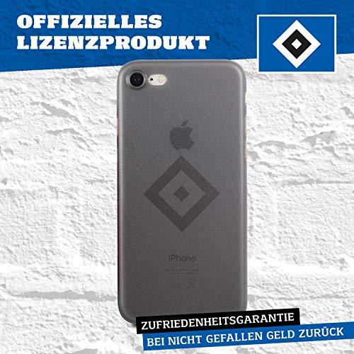 Hamburger SV Case - Attacke! - Schutzhülle passend für das iPhone 8 und iPhone 7 Black