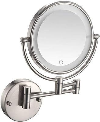 Amazon Com Zadro Ledw410 Led Lighted Wall Mounted Mirror