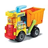 VTech - Tut Tut Bolides - Mon Super Camion Benne 2 en 1 – Jouet Camion Benne / Jouet dès 1 An - Version FR