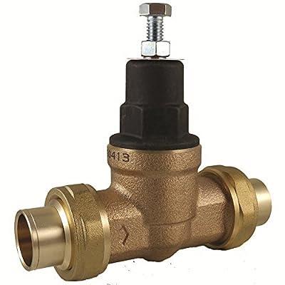 "Cash Acme 23159-0045 Pressure Regulator, EB45-CC Double Sweat Union, 1-1/4"" by Cash Acme"