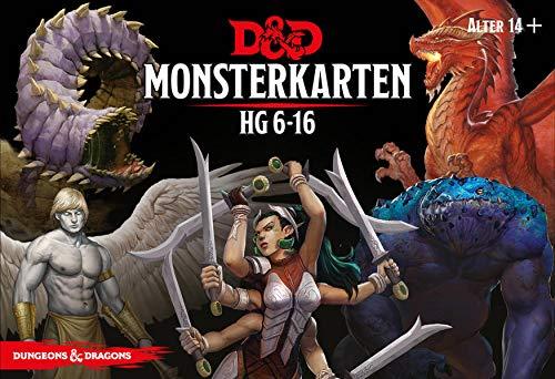 D&D Monsterkarten HG 6-16 (Hasbro)