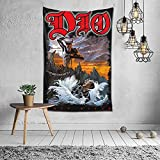 Dio Holy Diver Tapestry Wall Hanging Tapestry Wall Art For Bedroom Living Room Dorm Home Decor 40x60 Inches