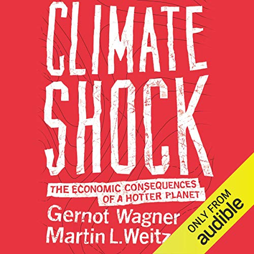 Climate Shock audiobook cover art
