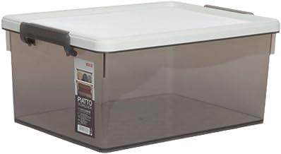 Citylife X-6269 SG PIATTO 31L Storage Box, 48.5 * 36.5 * 22.5cm, Smoke Grey