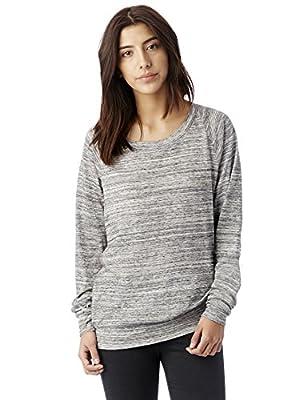 Alternative Women's Slouchy Pullover, Urban Grey, Extra Small by Alternative
