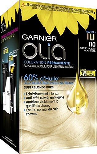 Garnier - Olia - Décoloration sans ammoniaque Blond - D+++ Décoloration Maxi - Lot de 2
