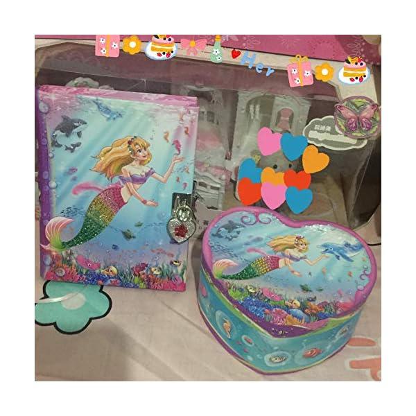 Dudubuy Princess Design Musical Jewelry Box for Girls Gift 6