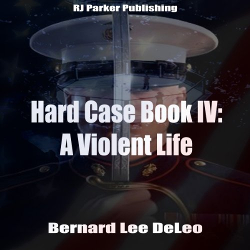 A Violent Life audiobook cover art