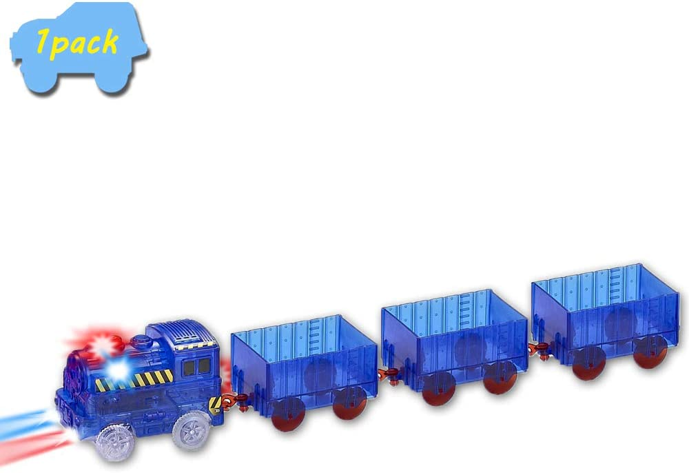 VINSOO quality assurance Blue Track Trains 1-Pack Multi-Color Flashing Up Light Fort Worth Mall