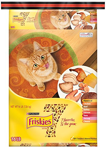 Purina Friskies 7 Cat Food - (1) 16 Lb. Bag