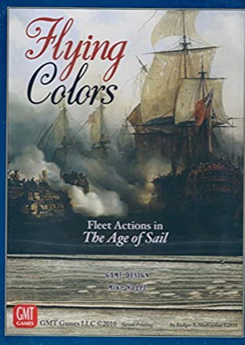 GMT  Flying Farbes, Fleet Actions in the Age of Sail, 2nd Edition by GMT Games