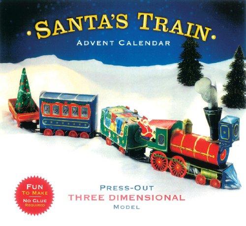 Caspari Advent Santa's Train