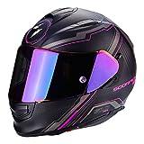 Scorpion Helm Motorrad exo-510Air Sync, matt black/pink, xxs
