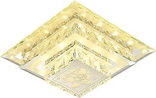 Oudan Modern Minimalist Corridor Lamp Creative Led Spotlight Embedded Ceiling Lamp, Lamp Body Material (Crystal) Warm Light (Color : -, Size : -)