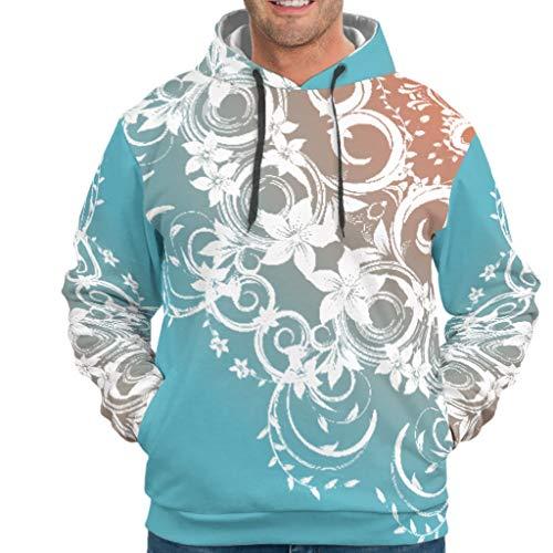 XJJ88 Groen Blauw Mandela Logo Unisex Hoody tieners Casual - Mandela Art Hooded Comfort Blouse