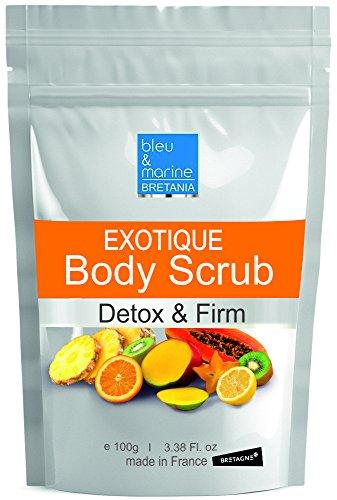 Exfoliante Corporal enzimático DETOX con Piña y Papaya 100% Natural - 100 g