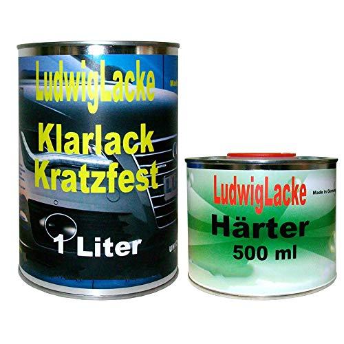 1,5 Liter MS Klarlack Set Klarlack und Härter für Autolack und Effektlack