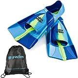 Aqua Speed Fusion Aletas largas de natación para Adultos y niños + ULTRAPOWER #Swim   Aletas de Buceo   azul/mix/82   Tamaño: 35/36