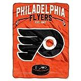 NHL Philadelphia Flyers 'Inspired' Raschel Throw Blanket, 60' x 80'