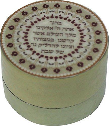 Holyland Joodse Reizigers Shabbat Kandelaar zegen Shabbos huishoudelijke kaars