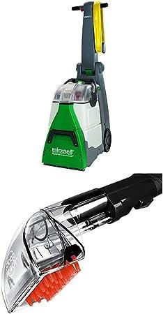 Bissell 48F3N Aspirador para lavar moquetas y alfombras, 1200 W, 83.6 Decibelios, Plastic, Verde, Gris + Bissell 2367 Accesorio de Alcance Profundo: Amazon.es: Hogar