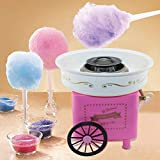 Mini Automatic Cotton Candy Machine Household DIY Cotton Candy Maker Vintage Hard