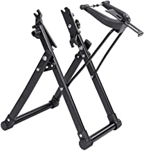 """Bike Wheel Truing Stand,Bicycle Tire Truing Stand, Foldable Home Mechanic Truing Stand Suitable for 16"""" - 29"""" 700C Wheels,..."""