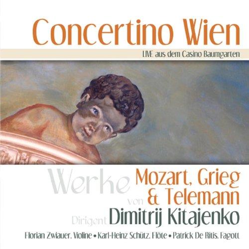 Concerto à 6 für Flöte, Fagott, Streicher und Basso continuo: Allegro