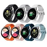 Angersi Correa 22mm Quick Release Reemplazo Deportivo de Silicona Suave Watch Strap Correa Compatible con Samsung Galaxy Watch 46mm /Gear S3 Frontier/Classic