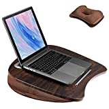 Lap Desk with Cushion for Laptop and Tablet - Fits up to 15.6 inch Slim Laptop, X-Large Laptop Stand...