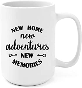 Unique Housewarming Gifts Coffee Mug, 15Oz Mug For New Home First Time House Owner Gift Ideas