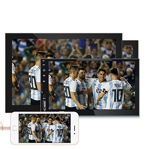 WZhen 7 Pulgadas HD Coche Mp5 Reproductor Dual Ingot HD Coche Bluetooth Manos Libres Invertir Imagen