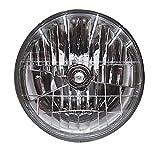 STANLEY [ スタンレー電気 ]マルチリフクター ヘッドランプ レーシングハイパーハロゲン [丸型2灯式] クリア [1個入り] 135/125W FH03