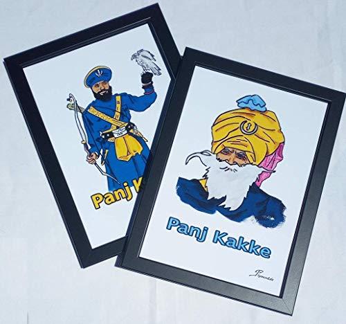 Toques exóticos y mucho color es lo que nos ofrecen estas láminas, retratos de temática hindú, dibujadas a mano y enmarcadas, listas para ocupar un puesto preferente en una pared de tu hogar.