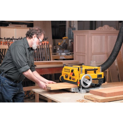 Thickness Planer in Use