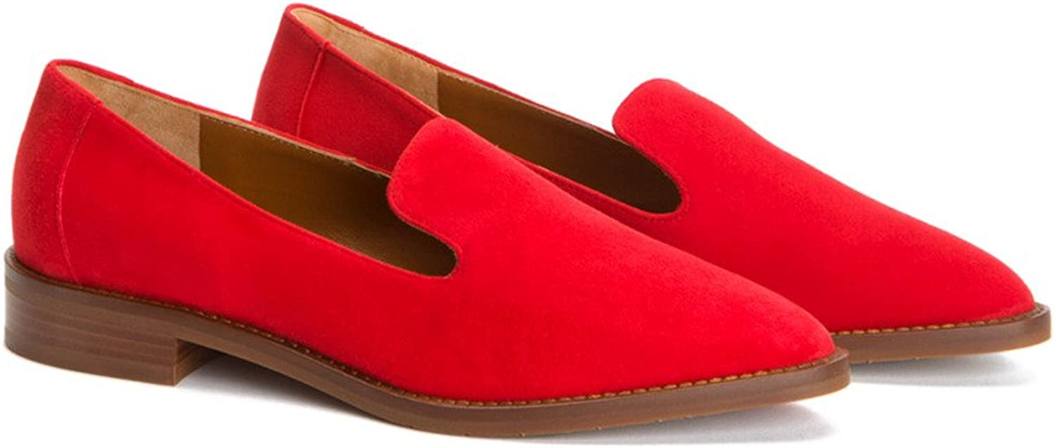Aquatalia Womens golda Suede Loafer Flat