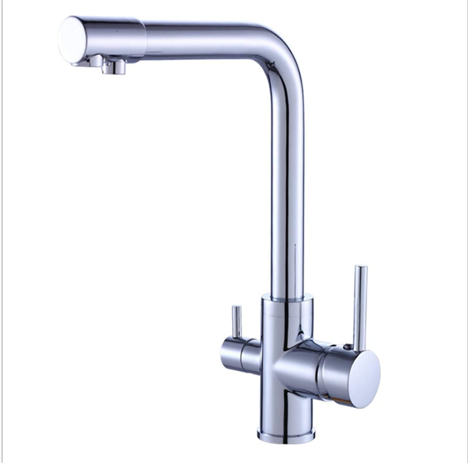 Counter Drinking Designer Archcopper Purified Water Kitchen Faucet Cool and Hot Mixed Water Single Kitchen Faucet Sanitary Ware