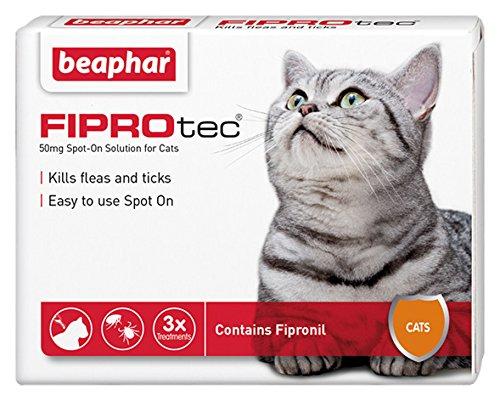 Beaphar FIPROtec Spot on Cat 3 Pipettes