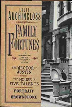 Hardcover Louis Auchincloss : Family Fortunes Three Collected Novels Book