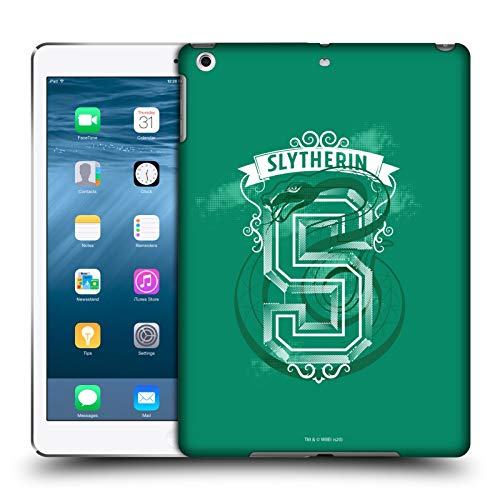 Head Case Designs Officially Licensed Harry Potter Slytherin 2 Deathly Hallows XVIII Hard Back Case Compatible with Apple iPad Air (2013)