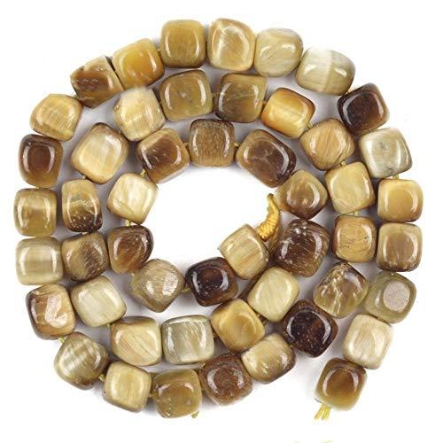 QAZWSX Natural Cristal, Piedra Natural de energía, Ojo de Tigre for la decoración casera la colección del Regalo Accesorios Femeninos (Color : Yellow)