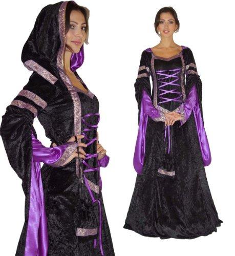 Maylynn 17202-M-L - Mittelalter Kostüm Melina Burgfräulein, 2-teilig, Größe M/L