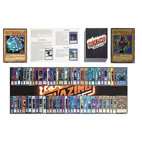 Yugioh Card Lot Includes 100 Holo Cards - Yugioh Deck Box - Yugioh Playmat - Beginner