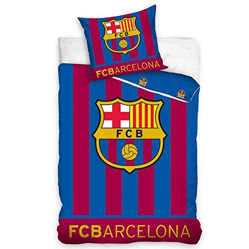 "FC Barcelona Bettwäsche ""Glow in the dark"" 140x200cm"