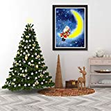KWzEQ Pintura sin Marco Año Nuevo Vacaciones Decoración navideña Decoración de la Pared Arte de la Pared Pintura Arte Decoración de SantaAY6653 40X50cm