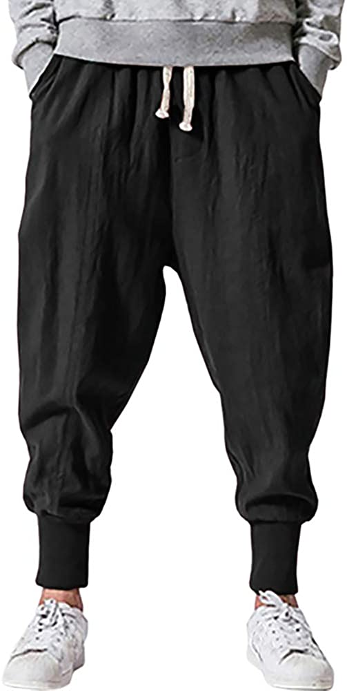 Pengfei Mens Special sale item Baggy Fixed price for sale Joggers Pants Drawstring Pockets Tape Elastic
