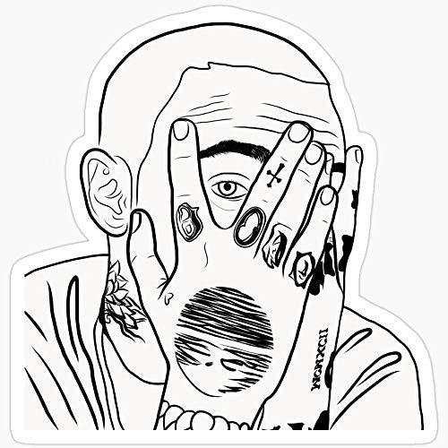Deangelo Mac Mill Stickers (3 Pcs/Pack)