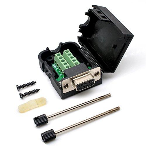 Oiyagai DB9 Female 9Pin to Screw Terminal Connector Signal Module
